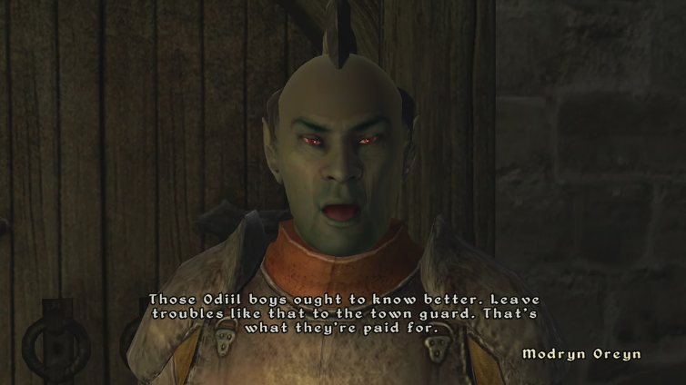 Doug DeJulio playing The Elder Scrolls IV: Oblivion