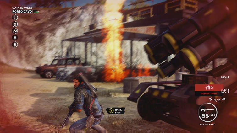 TonedStatue playing Just Cause 3