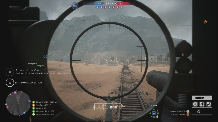 TheBeast0997 playing Battlefield 1