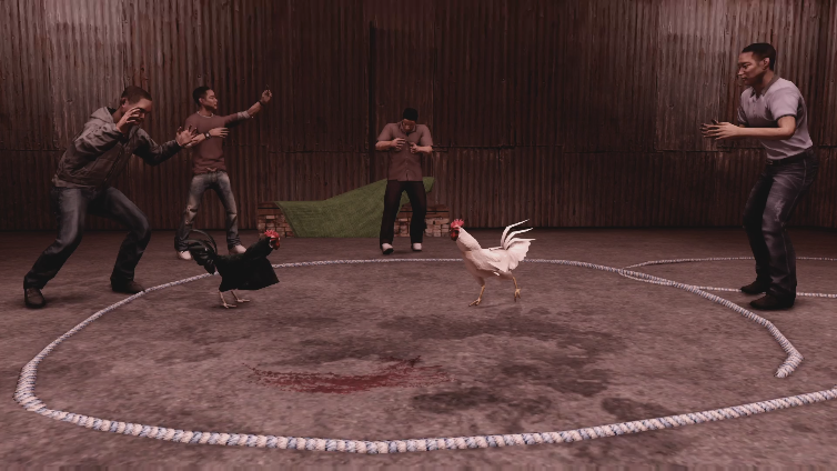 Brizzier playing Sleeping Dogs: Definitive Edition